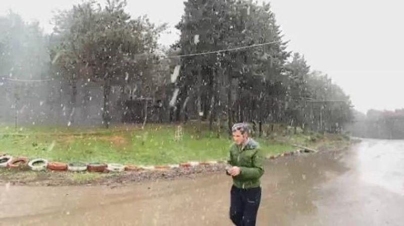 İstanbul Kar Yağışı