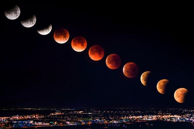 Kanlı Ay Tutulması