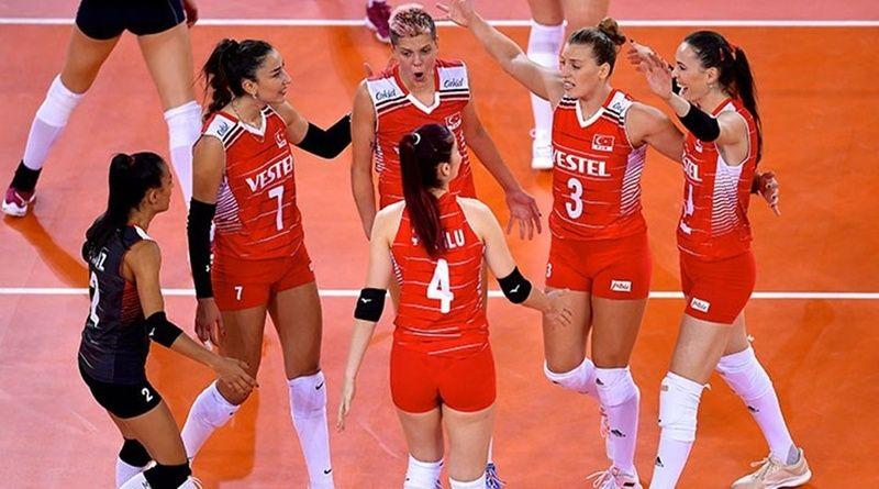 A Milli Kadın Voleybol Takımı Yarı Final Maçı Haberleri