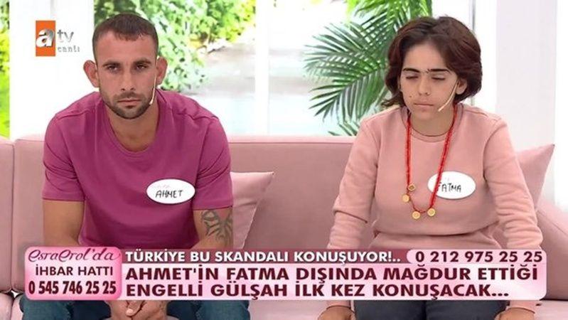 ATV Esra Erol'da Fatma ve Ahmet Olayı